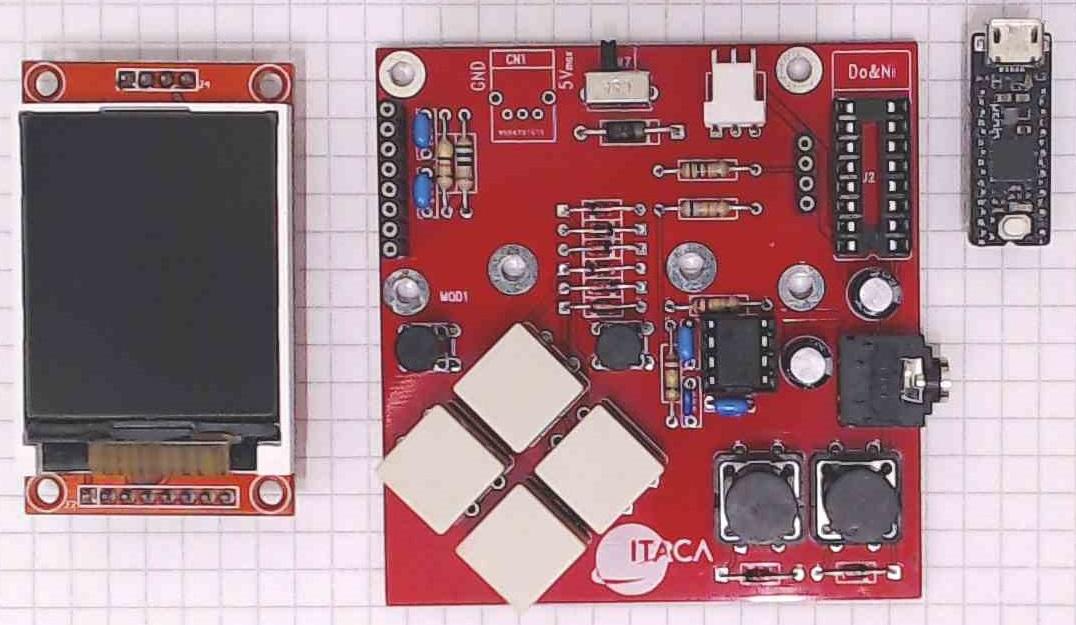 Создаём портативную платформенную игру на микроконтроллере