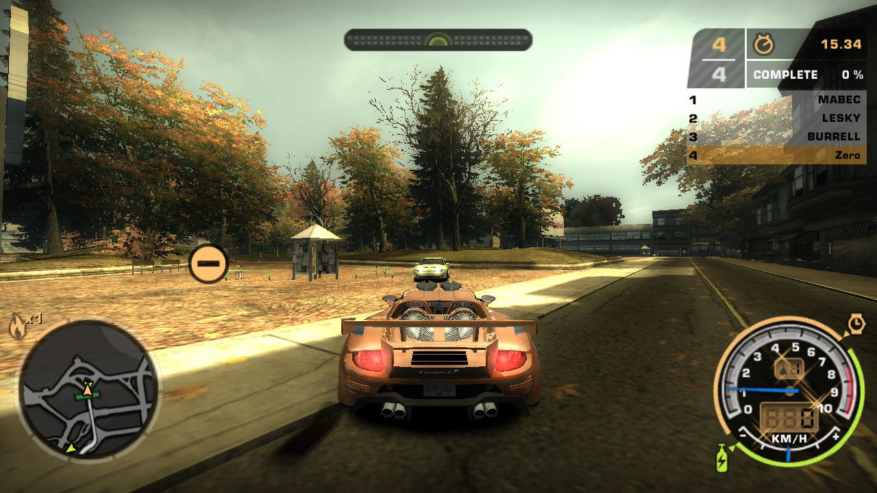MW-Online: мультиплеер для Need for Speed: Most Wanted (2005)