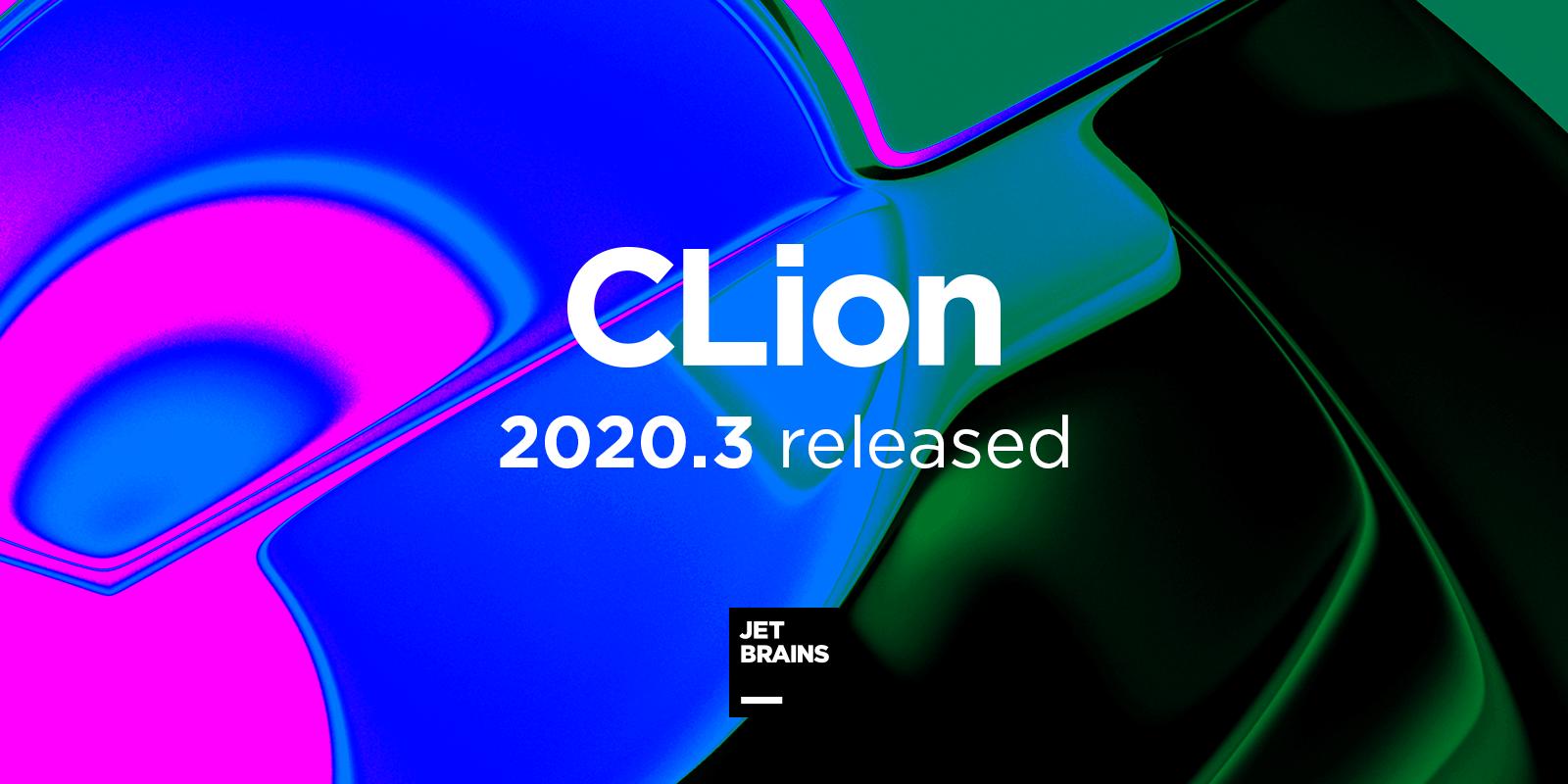CLion 2020.3 release