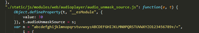 Getting links to audio without VKApi