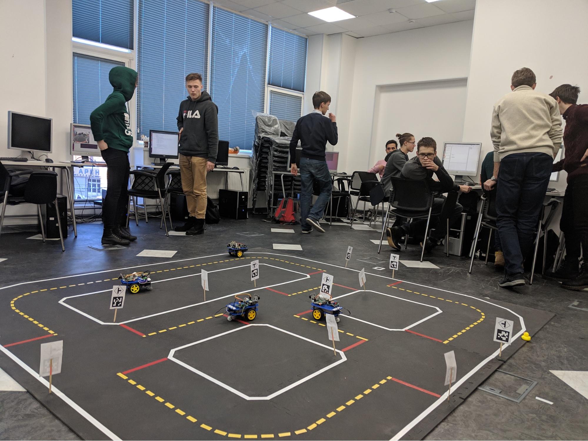 Лаборатория алгоритмов мобильных роботов