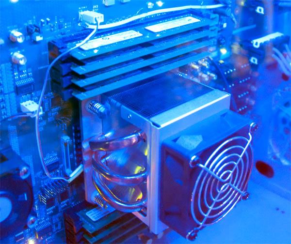 Радиатор 48-ядерного процессора