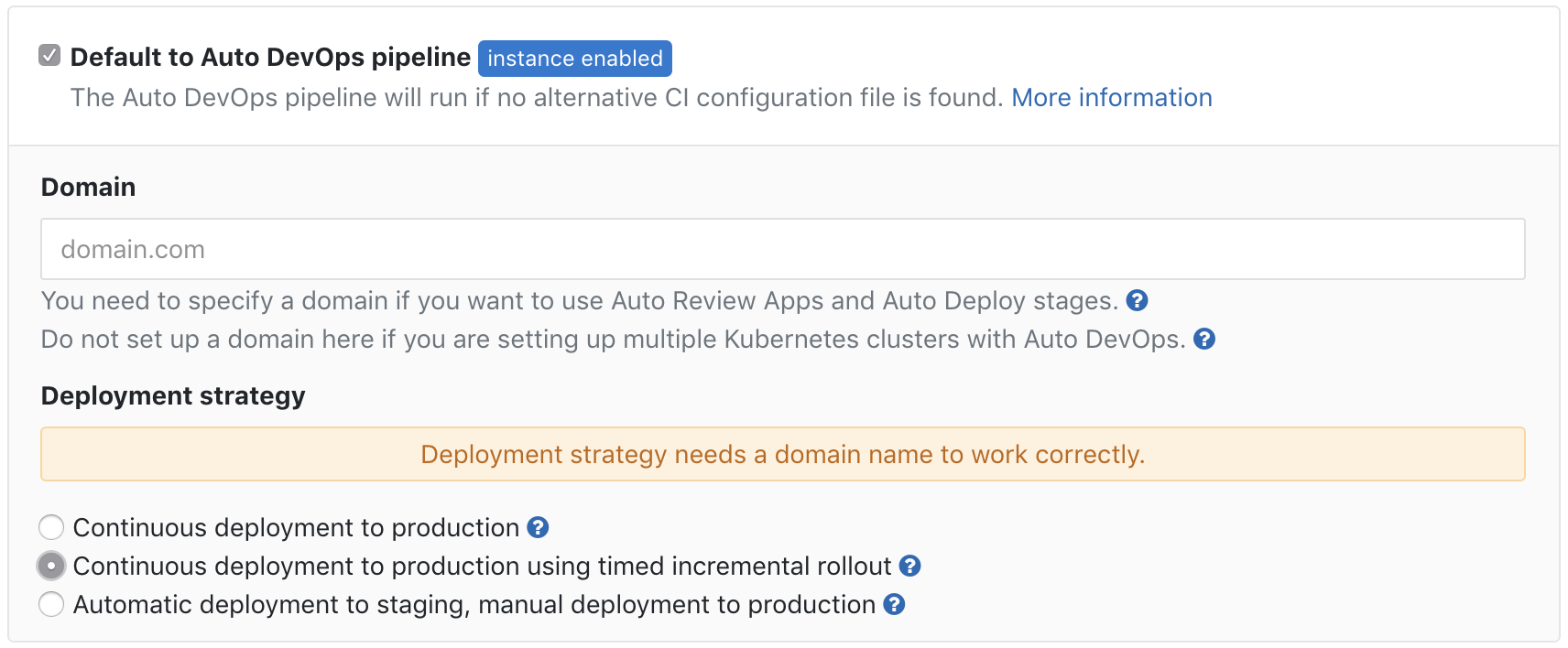 Add timed incremental rollouts to Auto DevOps