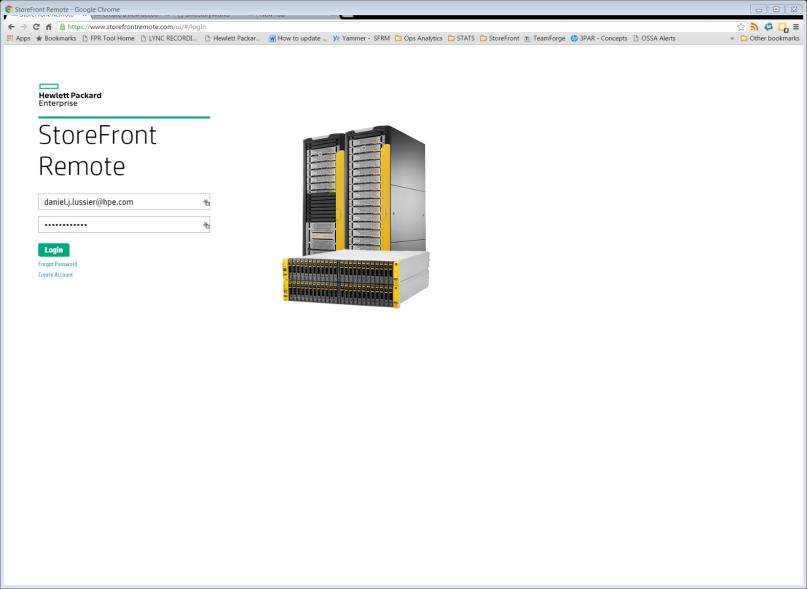 Облачный сервис для мониторинга массивов HPE 3PAR StoreServ