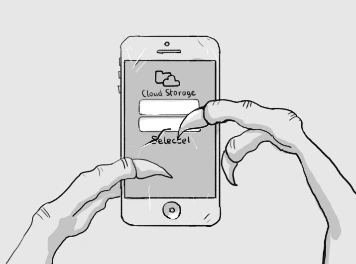 Приложение iOS для «Облачного хранилища»