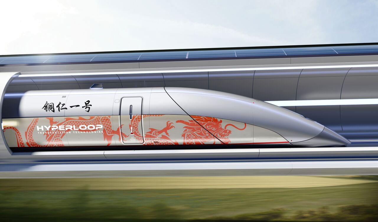 Hyperloop TT построит коммерческую трассу в Китае