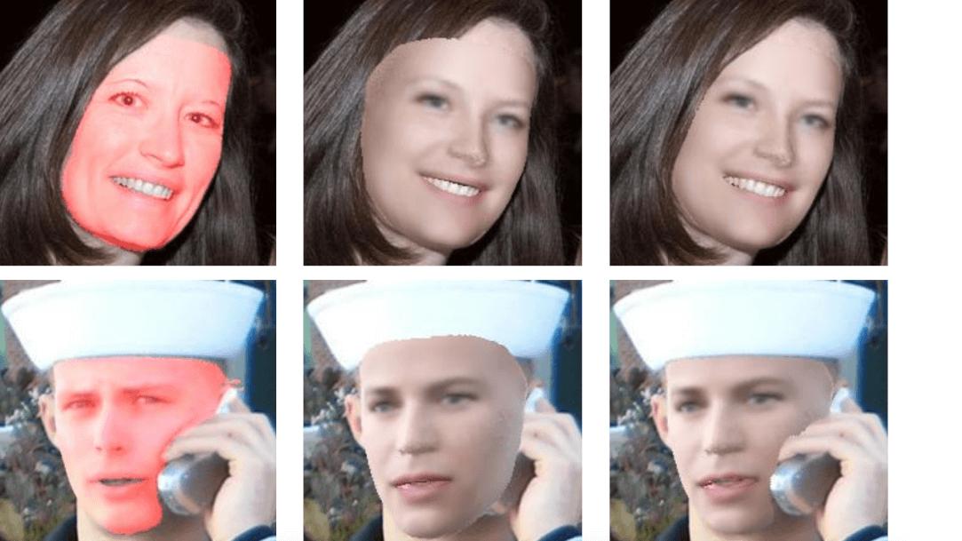 Получение морфируемой 3D-модели лица на основе фотографии в произвольном ракурсе