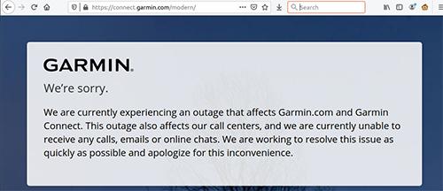 Перевод Как освободить умные часы Garmin от облачных сервисов, которые не работают из-за атаки