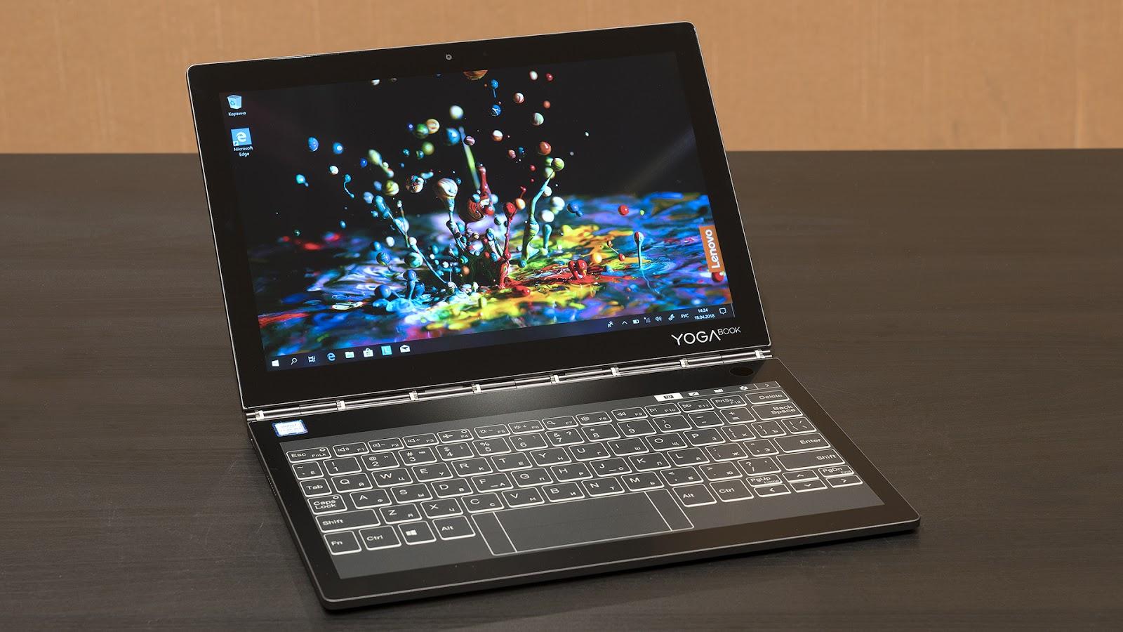 Lenovo YogaBook C930: устройство, которое заменяет сразу четыре гаджета