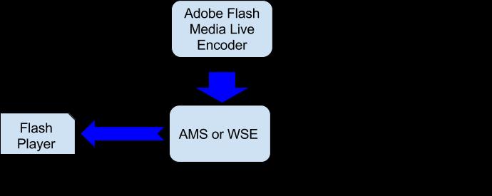 Схема перевірки трансляції через Adobe Flash Live Encoder