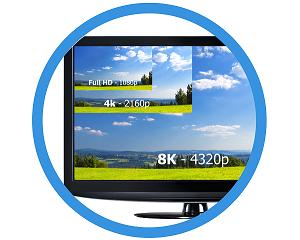 Full HD|4k|8k