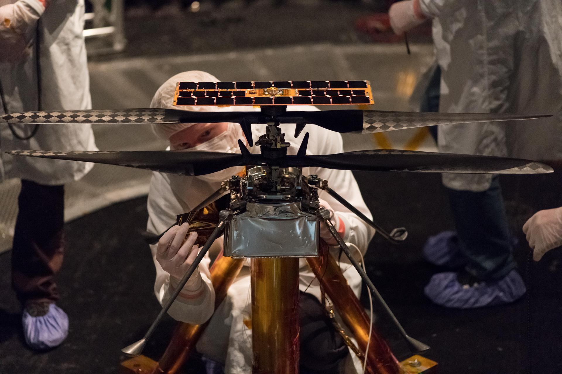 НАСА в марсолете Ingenuity используется открытое ПО и Linux