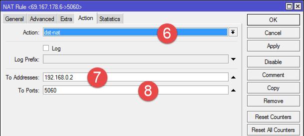 Настройка роутера Mikrotik для работы с 3CX Phone System