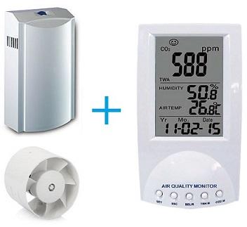 Доработка проветривателя или управление вентиляцией от датчика углекислого  ...