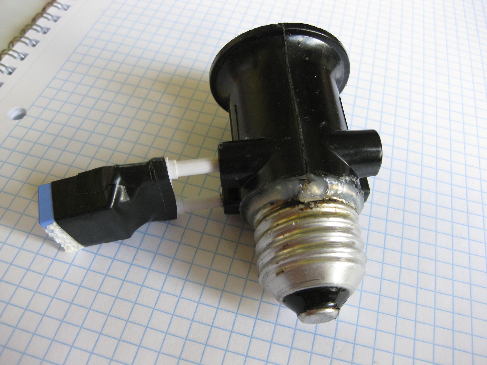 схема для плавного включения ламп 12 вольт