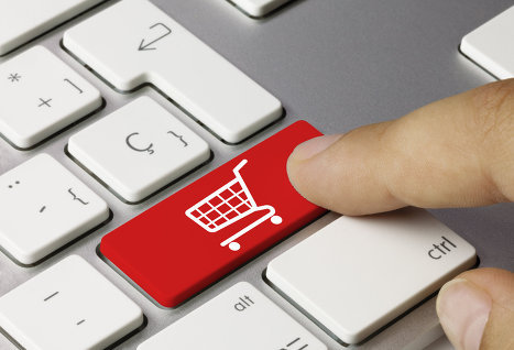 shopping cart on Enter
