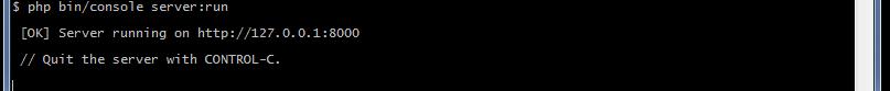 Развертка среды разработки Symfony под Windows