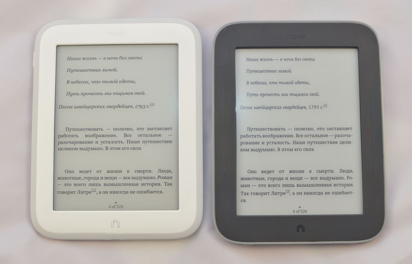 Сравнительный обзор нового Nook Glowlight: белый продукт Barnes&Noble