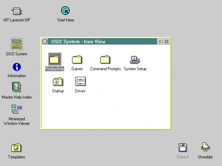 Workplace Shell OS/2 2.0