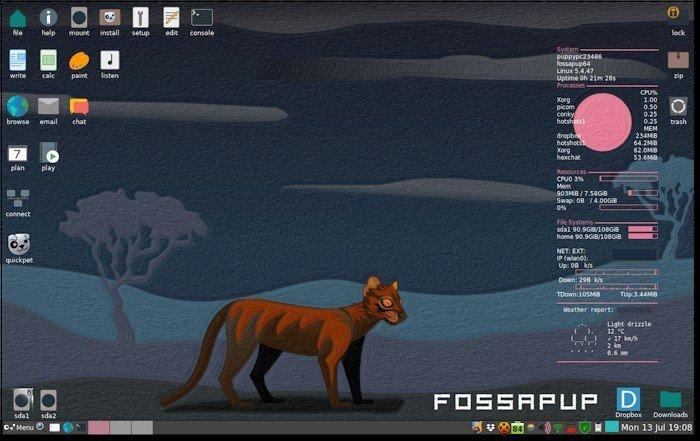 Вышел Puppy Linux 9.5, дистрибутив для устаревших и слабых ПК и ноутбуков