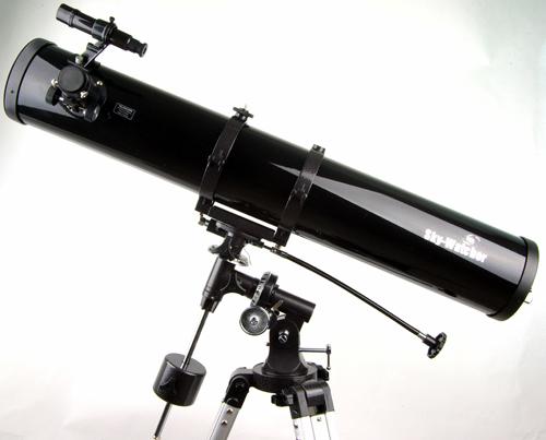 он же зеркальный телескоп.