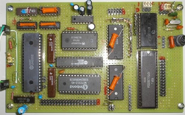 «Аюша» — контроллер на процессоре 6502