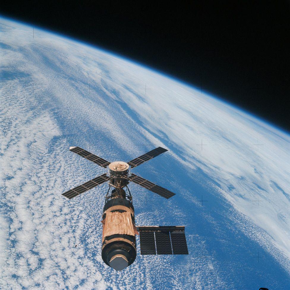 Перевод Skylab миф о мятеже в космосе