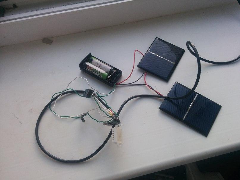 ESP8266 — сбор данных с датчиков с питанием от солнечных батарей