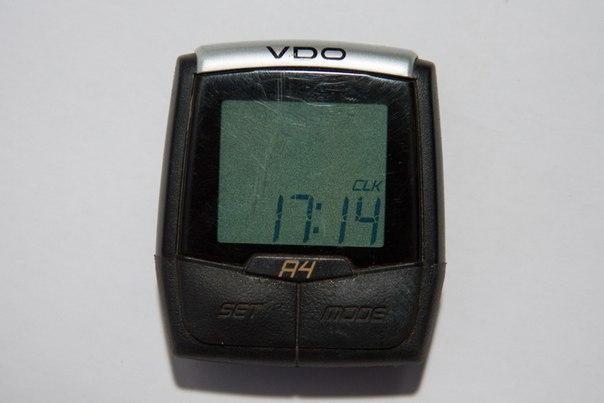 Разлочиваем велокомпьютер VDO A4 до A8