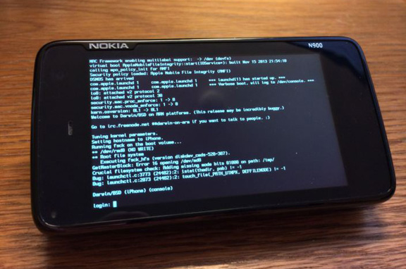 На Nokia N900 портировано ядро iOS