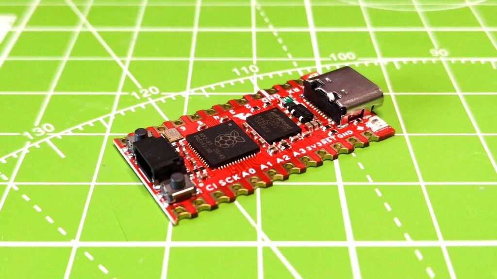Перевод SparkFun Pro Micro RP2040 функциональная плата с чипом от Raspberry ценой в 10