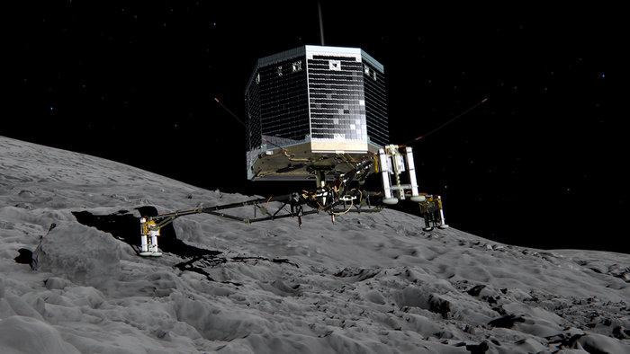 Посадочный зонд Philae/Rosetta: что будет происходить при высадке зонда на  ...