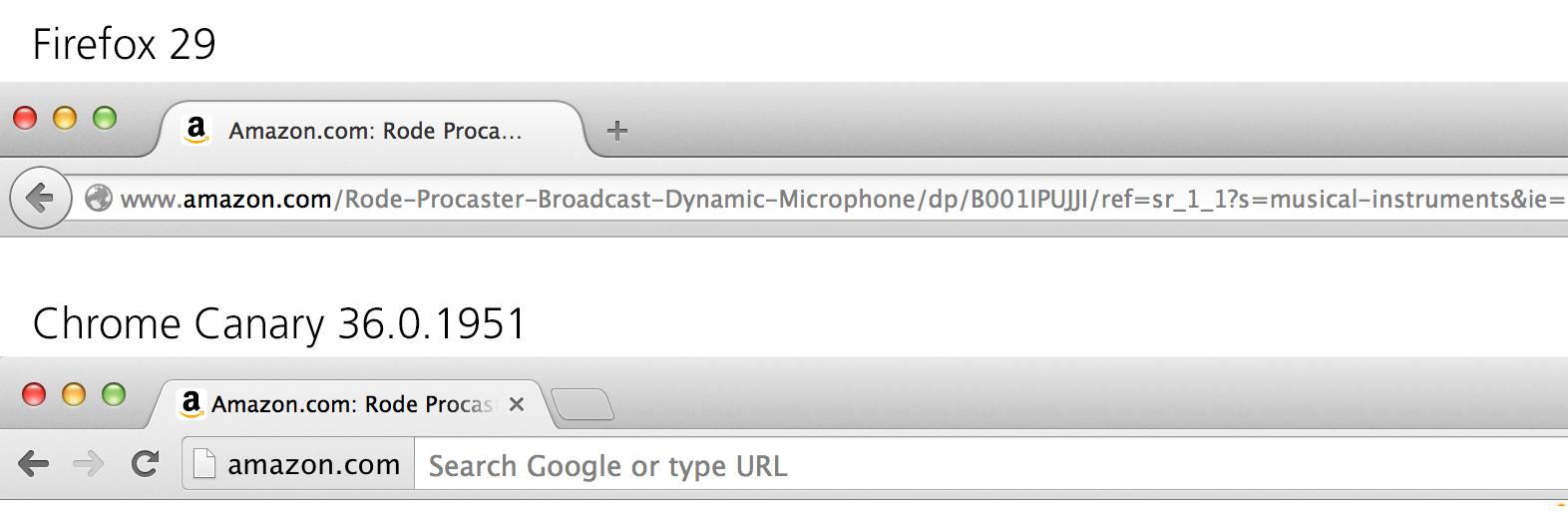 Google испытывает версию Chrome без отображения URL