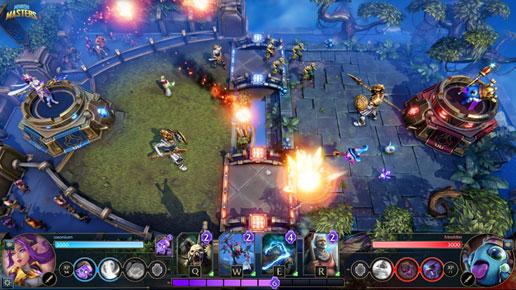 Снимок экрана игры Minion Masters