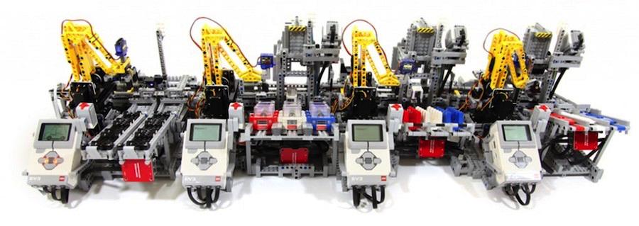 Разрабатываем беспилотный транспорт в средней школе с LEGO EV3
