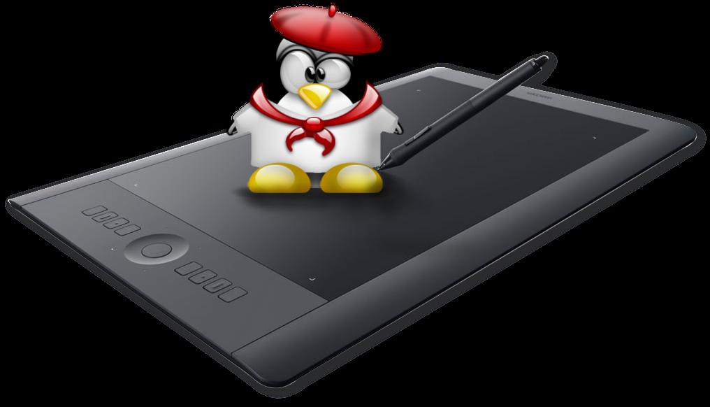 [Из песочницы] Подключение графического планшета Wacom Pro в Linux или как bash помогает художникам