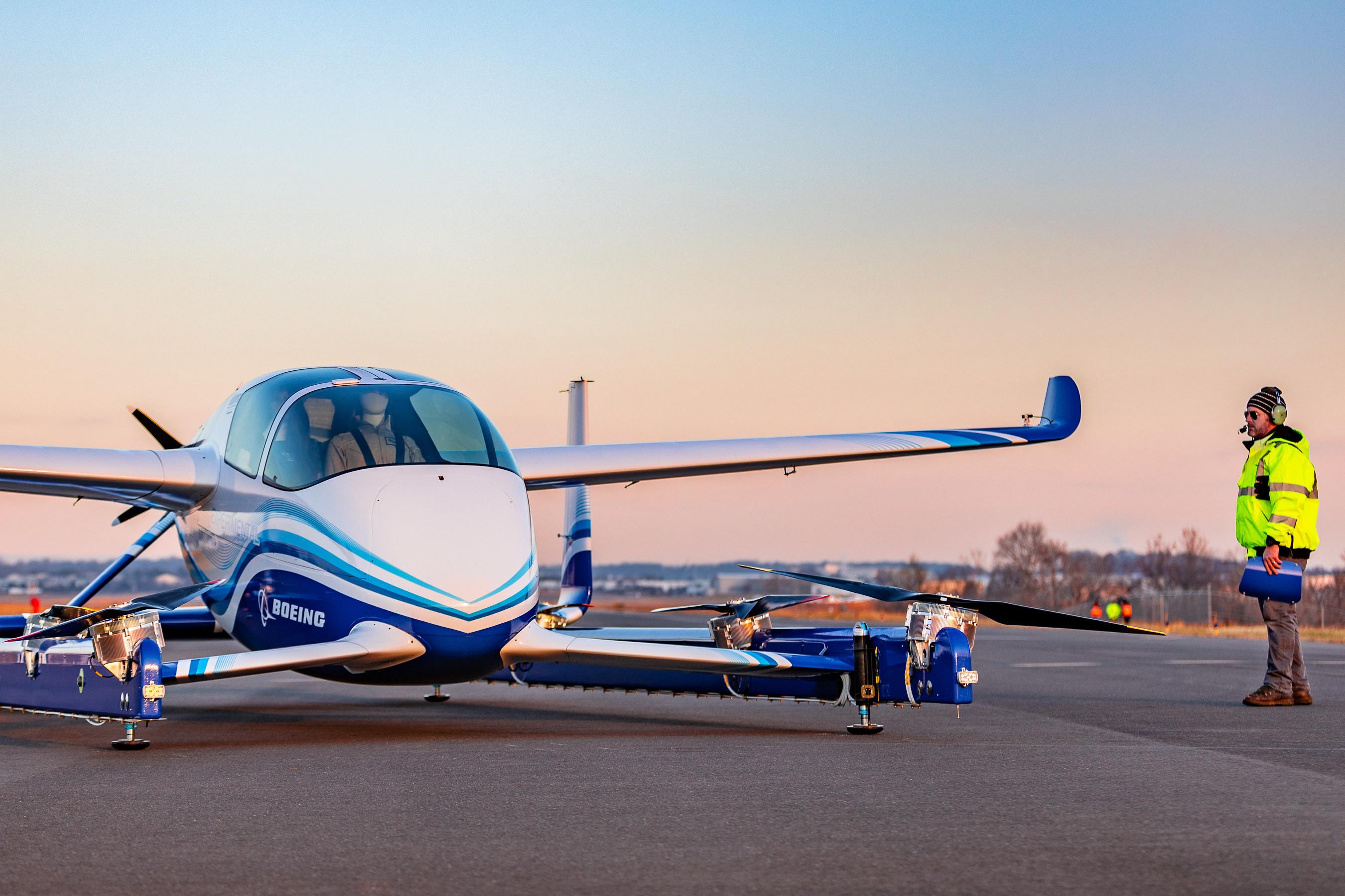 Boeing провела успешные испытания беспилотного аэротакси