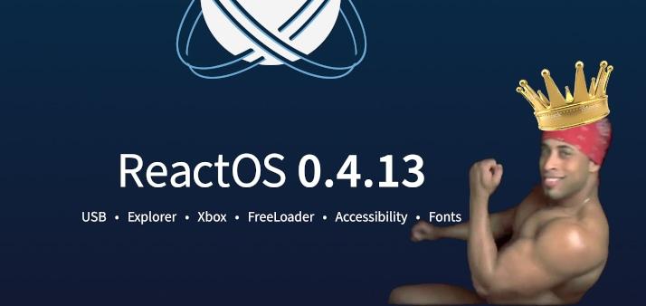 ReactOS 0.4.13 CE (Coronavirus Edition)