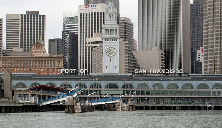 Facebook тестирует водное такси для перевозки сотрудников из Сан-Франциско