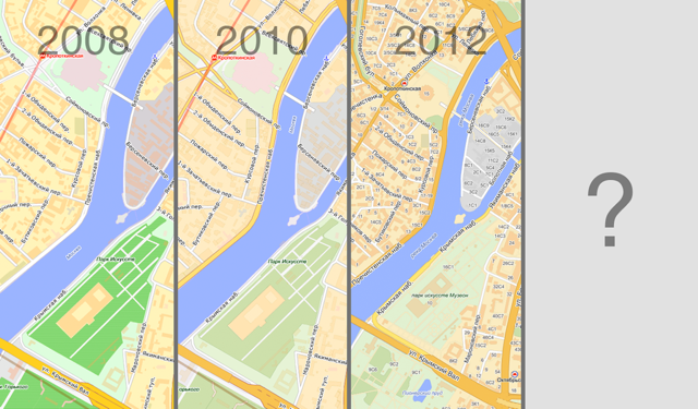 How Yandex.Maps design has changed