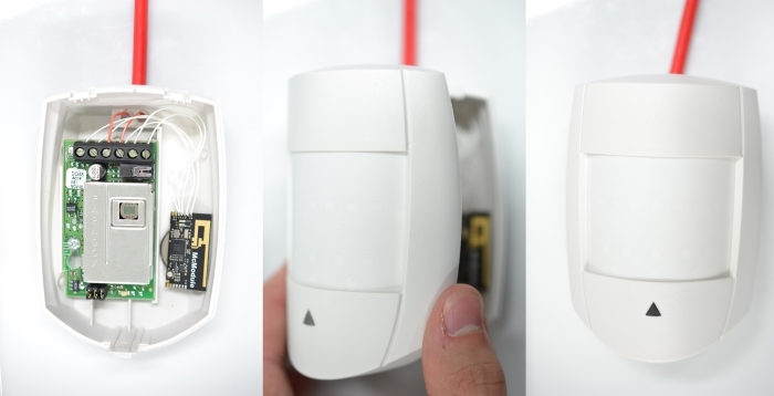 McModule in a motion sensor