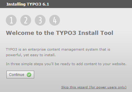 Открыть в браузере TYPO3