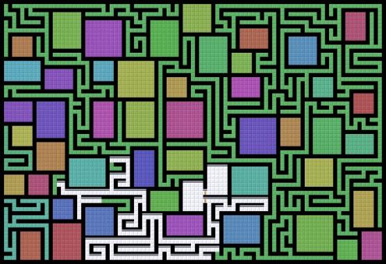 Процедурная генерация лабиринтов в Unity