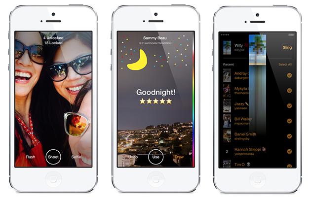 Sling.Me: Facebook запустил собственный мессенджер Slingshot для iOS и Android