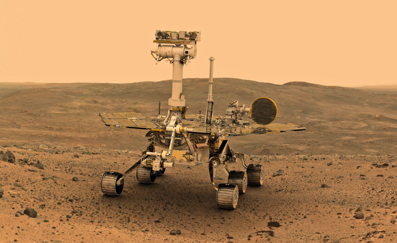 """Opportunity """"fell asleep"""" because of the sandstorm on Mars. It is not yet clear whether the rover will be able to work again"""