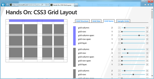 Hands On: CSS3 Grid Layout