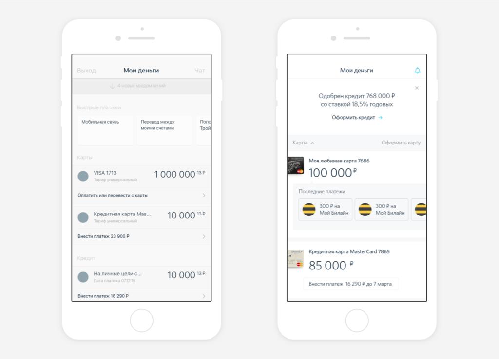 Редизайн мобільного додатку банку «Відкриття»