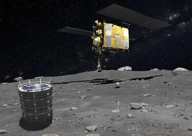 Японцы отправят спускаемый зонд к астероиду 1999 JU3 в конце этого года