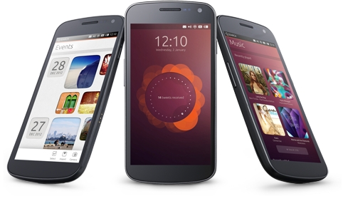 «Hi-end» смартфоны с Ubuntu Touch появятся в 2014 году