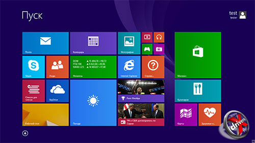 меню для windows 8.1